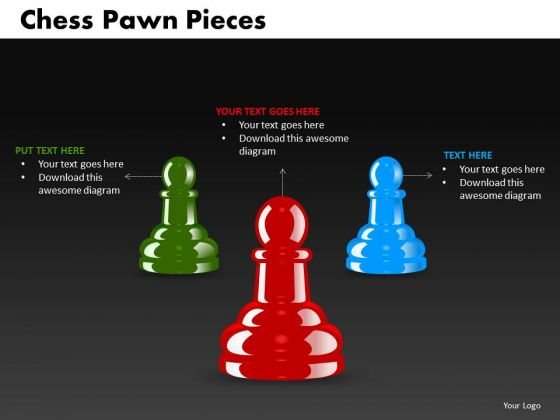 Strategy Diagram Chess Pawn Pieces Consulting Diagram