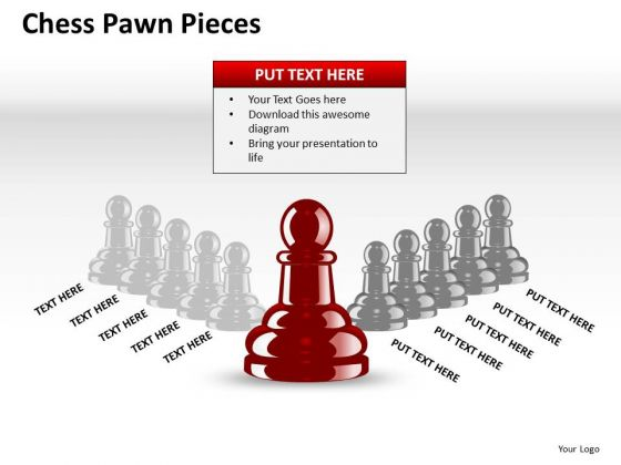 Strategy Diagram Chess Pawn Pieces Ppt Mba Models And Frameworks