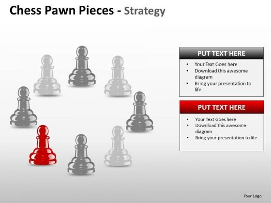 Strategy Diagram Chess Pawn Pieces Strategy Business Finance Strategy Development