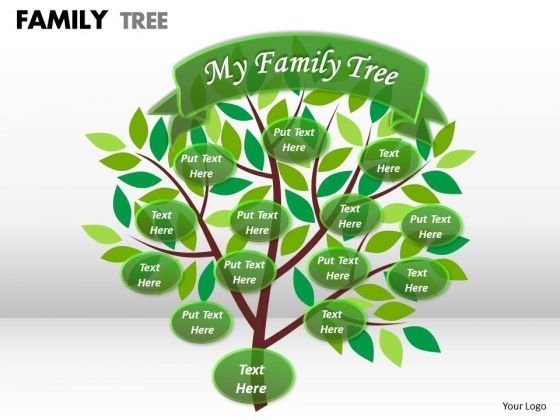 Strategy Diagram Family Tree Business Finance Strategy Development