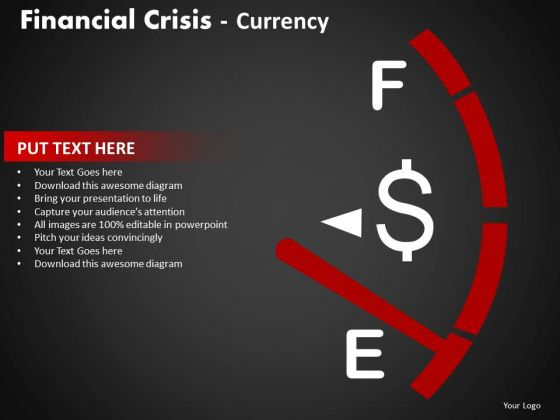 Strategy Diagram Financial Crisis Currency Business Framework Model