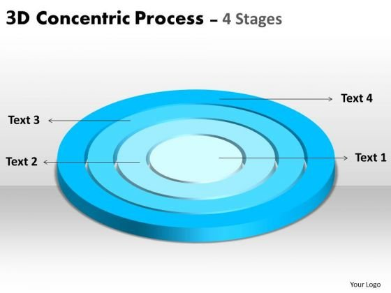 Strategy Diagram Horizontal Concentric Diagram Business Cycle Diagram