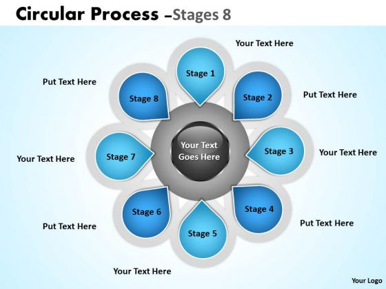 Strategy Diagram Hub And Spoke Stages Sales Diagram