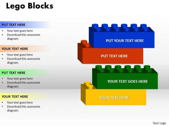 Strategy Diagram Marketing Diagram Lego Blocks 4 Strategic Management Sales Diagram