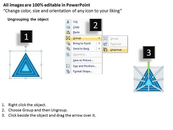 strategy_diagram_stack_triangle_business_framework_model_2