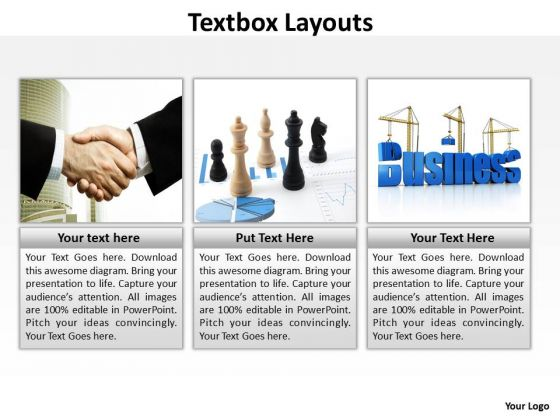 Strategy Diagram Textbox Layouts Business Cycle Diagram