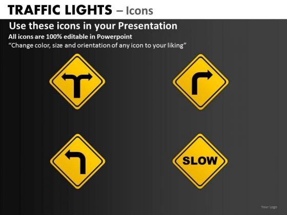 Strategy Diagram Traffic Lights Icons Business Finance Strategy Development