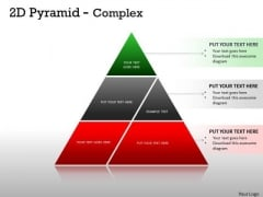 Business Cycle Diagram 2d Pyramid Complex Design For Marketing Strategy Diagram