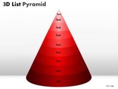 Business Cycle Diagram 9 Staged 3d Red Triangular Diagram For Business Mba Models And Frameworks
