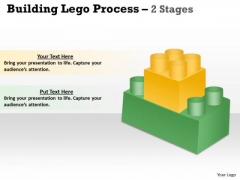 Business Cycle Diagram Building Lego Process 2 Stages Sales Diagram