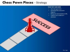 Business Cycle Diagram Chess Pawn Pieces Strategy Business Framework Model