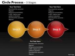 Business Cycle Diagram Circle Arrow 3 Marketing Diagram