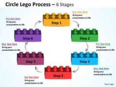 Business Cycle Diagram Circle Lego Process 6 Stages Strategy Diagram