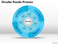 Business Cycle Diagram Circular Puzzle Flowchart Process Diagram Strategic Management