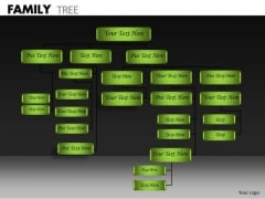 Business Cycle Diagram Family Tree Business Diagram