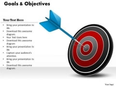 Business Cycle Diagram Focus On Business Goals Business Diagram