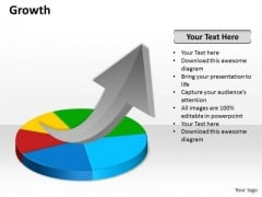 Business Cycle Diagram Growth Business Diagram