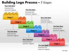 Business Cycle Diagram Lego Blocks Process 7 Stages Strategy Diagram