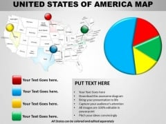 Business Cycle Diagram Usa Country Maps Sales Diagram