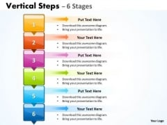 Business Cycle Diagram Vertical Steps 6 Diagram Marketing Diagram