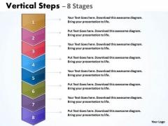 Business Cycle Diagram Vertical Steps Diagram Marketing Diagram