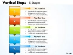 Business Cycle Diagram Vertical Steps Ppt Image Marketing Diagram