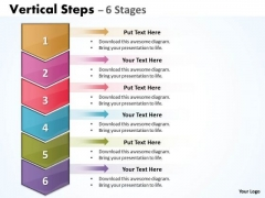 Business Cycle Diagram Vertical Steps Templates Consulting Diagram