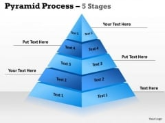 Business Diagram 5 Stages Triangle Design For Sales Business Cycle Diagramb