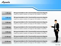 Business Diagram 7 Staged Process Diagram Strategic Management