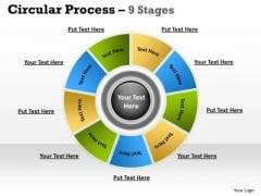 Business Diagram 9 Stages Planning Process Business Diagram Consulting Diagram