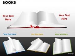 Business Diagram Books Marketing Diagram