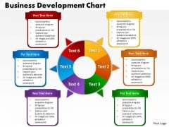 Business Diagram Business Development Chart Marketing Diagram