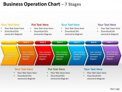 Business Diagram Business Operation Chart 7 Stages Sales Diagram