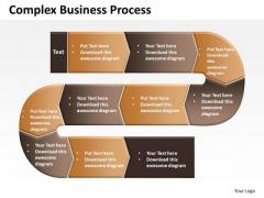 Business Diagram Complex Business Process Sales Diagram