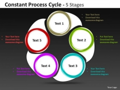 Business Diagram Constant Process Cycle 5 Stages Business Cycle Diagram