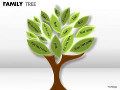 Business Diagram Family Tree Consulting Diagram