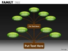 Business Diagram Family Tree Marketing Diagram