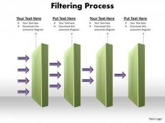 Business Diagram Filtering Process PowerPoint Slides Business Cycle Diagram