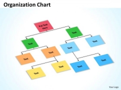 Business Diagram Organization Chart Boxes Business Cycle Diagram