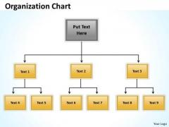Business Diagram Origanization Charts Marketing Diagram