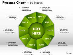 Business Diagram Process Chart 10 Stages Marketing Diagram