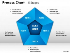 Business Diagram Process Chart 5 Stages Marketing Diagram