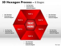 Business Diagram Process Chart 6 Stages Sales Diagram