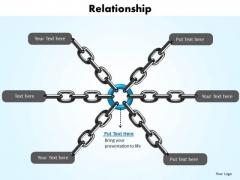 Business Diagram Relationship Business Framework Model