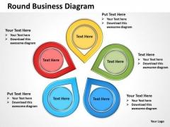 Business Diagram Round Business Diagram Sales Diagram