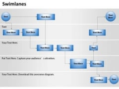 Business Diagram Swimlane Business Control Diagram Mba Models And Frameworks