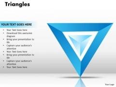 Business Diagram Triangles Diagram Marketing Diagram