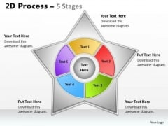 Business Finance Strategy Development 2d Star Process Diagram With 5 Stages Sales Diagram