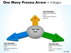 Business Finance Strategy Development 3d Arrow 3 Step Business Cycle Diagram