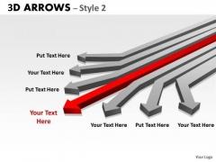 Business Finance Strategy Development 3d Arrows Styli Strategy Diagram